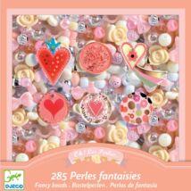Gyöngykészlet - Szívek - Hearts Djeco