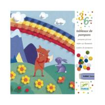 Pompom-kép készítő - Pihe Puha - Softly softly- DJECO