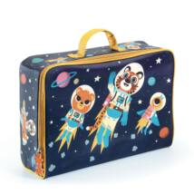 Trendi kis bőrönd - Űrutazás - Space suitcase