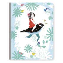 Jegyzetfüzet A/5 - Chic notebook- DJECO