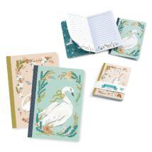 Jegyzetfüzet 2 db A/6 - Lucille little notebooks- DJECO