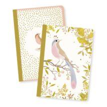 Jegyzetfüzet 2 db A/6 - Tinou little notebooks- DJECO