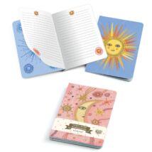 Jegyzetfüzet 2 db A/6 - Aurelia notebooks Djeco Lovely Paper