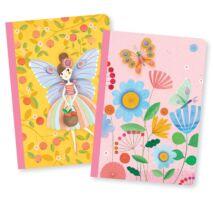Rose little notebooks Djeco