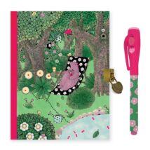 Titkos napló mágikus filctollal - Fanny secret notebook - Magic felt pen - Djeco