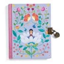 Titkos napló - Marie secret - notebook Djeco