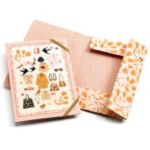 Tinou elastic band folders Djeco