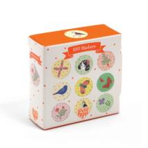 Kerek matricák - 100 Chichi stickers- DJECO