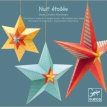 3D-s függödísz - Csillagok - Stars at night- DJECO