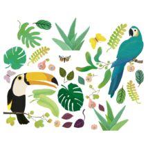 Ablakmatrica - Jungle - 30 stickers Djeco