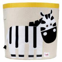 3 Sprouts játéktartó zebra