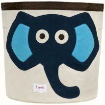 3 Sprouts játéktartó kék elefánt