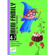 Kártyajáték - Kis családi játék - Mini family - DJECO