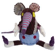 Les Deglingos Original RATOS - a patkány plüssfigura