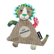 Les Deglingos plüss szundikendő Baby Jélécros - az oroszlán