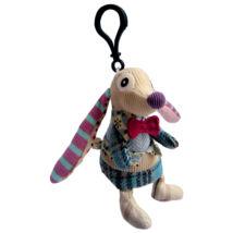Les Deglingos Mini plüss Kulcstartó NONOS - a kutya