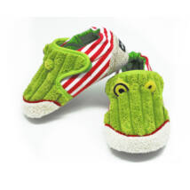 Les Deglingos cipőcske: CROAKOS - a béka 6-12 hónapos korig