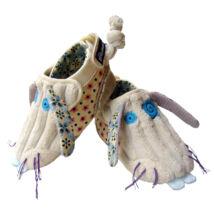 Les Deglingos plüss cipőcske Lapinos - a nyúl 6-12 hónapos korig