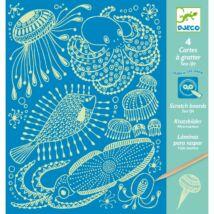 Karckép technika - Tenger világa - Sea life Djeco Design by