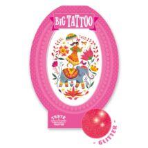 Tetováló matricák - Rose India Djeco Design by