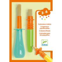3 féle ügyes ecset gyerekeknek - 3 ingenious paintbrushes Djeco Design by
