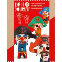 Csináld magad! - Kalóz figurák - Funny pirates Djeco Design by