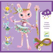 Figura készítés - Tündérkéim - My fairies Djeco Design by