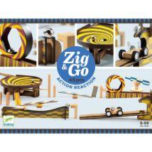 Építőjáték - Zig & Go - 45 db-os Djeco