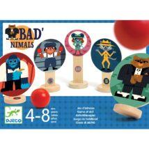 Célzó játék - Jó rossz golyójáték - Bad'nimals - Djeco