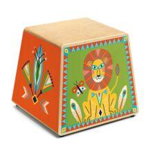 Játékhangszer - Perui dobozdob - Cajon - Djeco