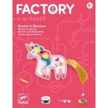 E-textil - Unikornis kitűző - Brooch - Sweet unicorn - Djeco