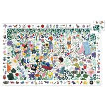 Megfigyeltető puzzle - 1000 virág, 100 db-os -1000 flowers- DJECO