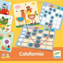 Fejlesztő játék - Színek és formák - Eduludo Coloformix- DJECO