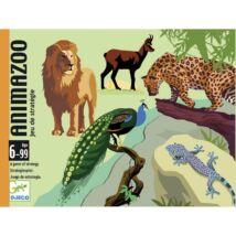 Kártyajáték - Legjobb állatkert - Animazoo- DJECO