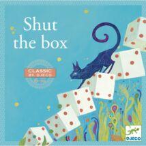 Társasjáték klasszikus - Nyitni kék - Shut the box - DJECO