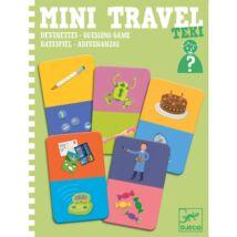 Mini utazó játék - Kérdezz-Felelek - Teki - DJECO