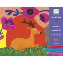 Művészeti műhely, gélpasztell - Vadállatiságok - Wild things- DJECO