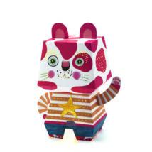 Éjszakai papír lámpás - Arty Cat- DJECO