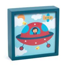 Jelzőfényes falikép - Polo space- DJECO