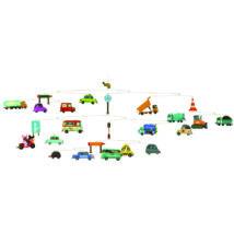 Szélmobil függődísz - Közlekedés - Traffic- DJECO
