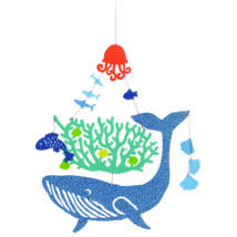 Minimobil - Bálna a tengerben - Whale under water- DJECO