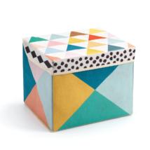 Tárolódoboz - Helyes doboz - Seat toy box- DJECO