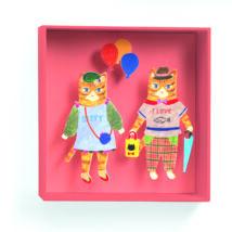 Falikép - Lufis macskák - Cats balloon- DJECO