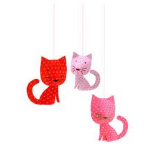 3D-s függödísz - Függő cicák - Perched cats- DJECO