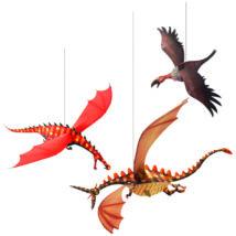 3D-s függödísz - Könyörtelen sárkányok - Merciless dragons- DJECO