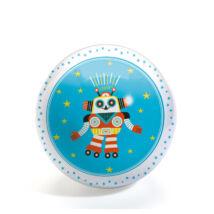 Gumilabda - Vidám robot - Funky Robots ball- DJECO