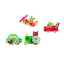 Szerelő játék - Járművek  - Assembling- DJECO