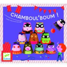 Célbadobó játék - Üsd le őket! - Chamboul' Boum- DJECO