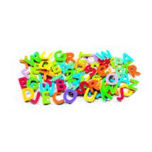Mágneses betűkészlet - Színes nagybetűk - 83 small letters- DJECO