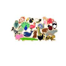 Formaillesztő, formaberakó -  Vonzó állatfigurák - Magnimo- DJECO